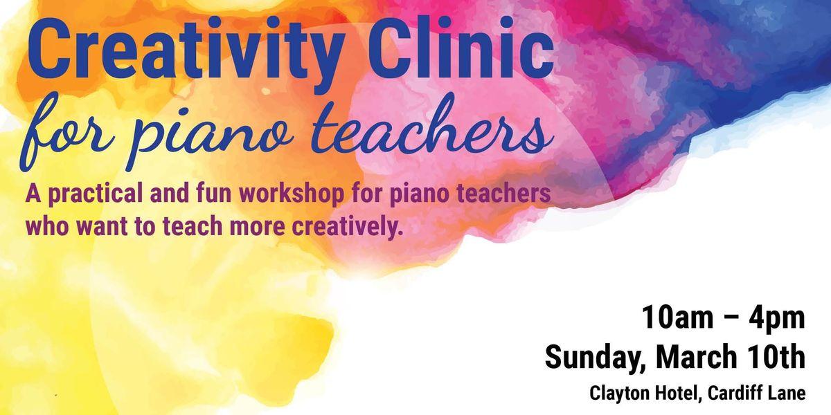 Creativity Clinic for piano teachers in Dublin with special guest Paul Myatt