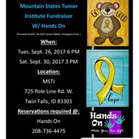 Mountain States Tumor Institute Fundraiser with Hands On