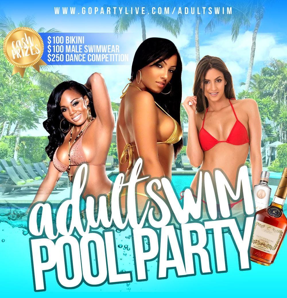 Adult Swim Pool Party - Orlando