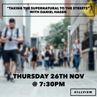 Taking the supernatural to the streets with Dan Hagen