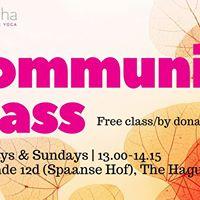 Community Yoga Class with Julija Keslere