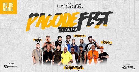 Pagode Fest - 1 Edio