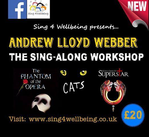 The Andrew Lloyd Webber Sing-Along Workshop