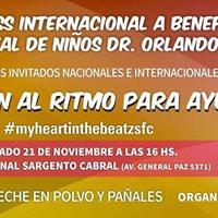Mster Class International a Beneficio del Hospital de Nios