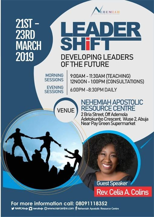 LEADERSHIFT DEVELOPING LEADERS OF THE FUTURE
