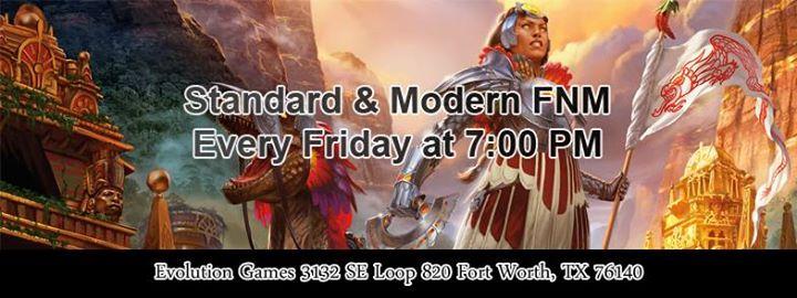 FNM Standard & Modern at Evolution Games
