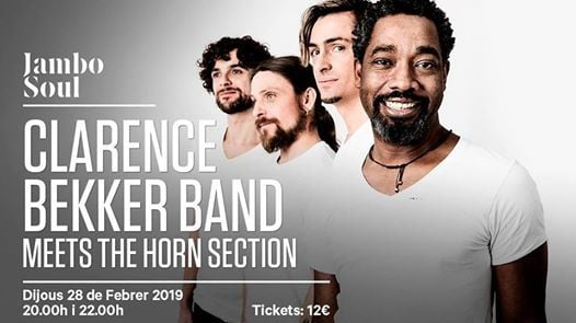 Clarence Bekker Band meets. The Horn Section