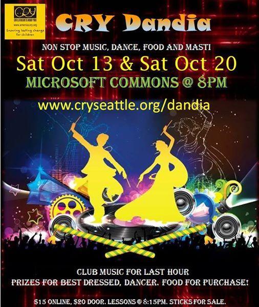CRY Dandia - Music Food Dance