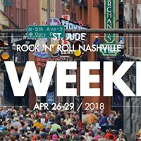 Lace up for St. Jude- Rock n Roll Nashville