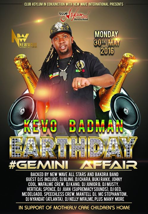 Mc Kevo Badman Birthday Party (Gemini Affair) at Club Asylum