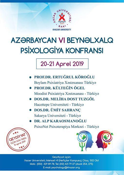 Azrbaycan 6-c Beynlxalq Psixologiya Konfrans