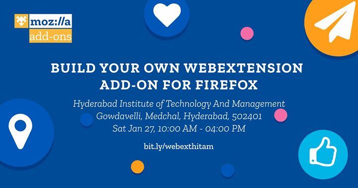 Firefox Add-ons Workshop at HITAM College