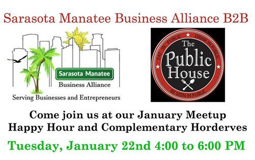B2B January Networking Meetup at the Public House - Sarasota
