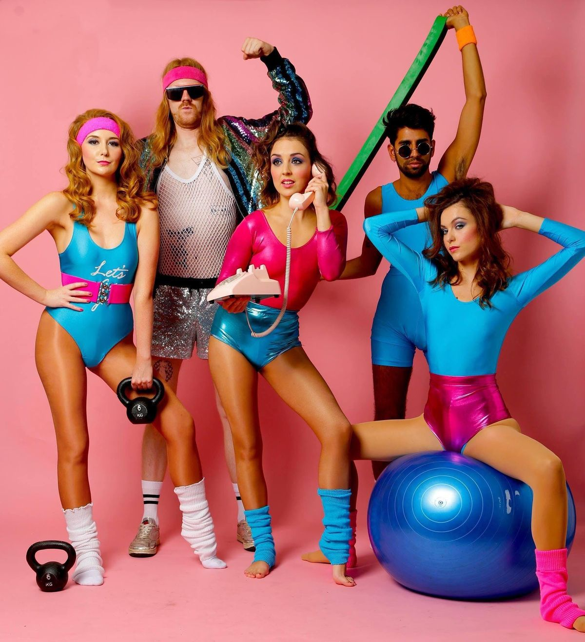 80s Morning Fitness Party