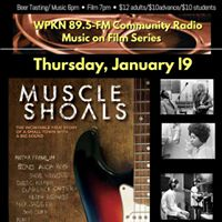 WPKNs Music on Film January Movie- MUSCLE SHOALS