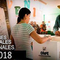 Elecciones municipales y regionales 2018