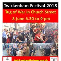 Twickenham Festival Tug of War