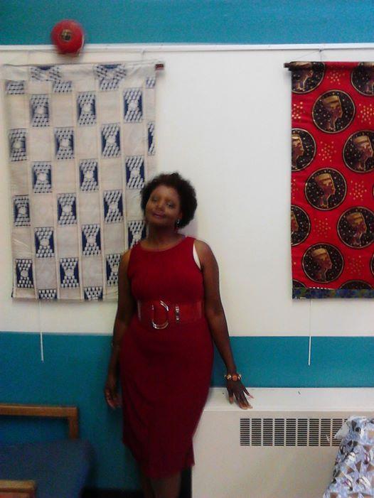 Gallery Art Walk Exhibit-Leanora Erica Mims Textile Artist