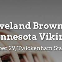 Cleveland Browns vs. Minnesota Vikings
