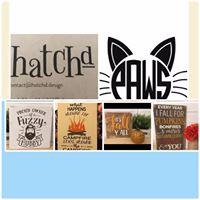 Hatchd Custom Designs P.A.W.S. Fundraiser