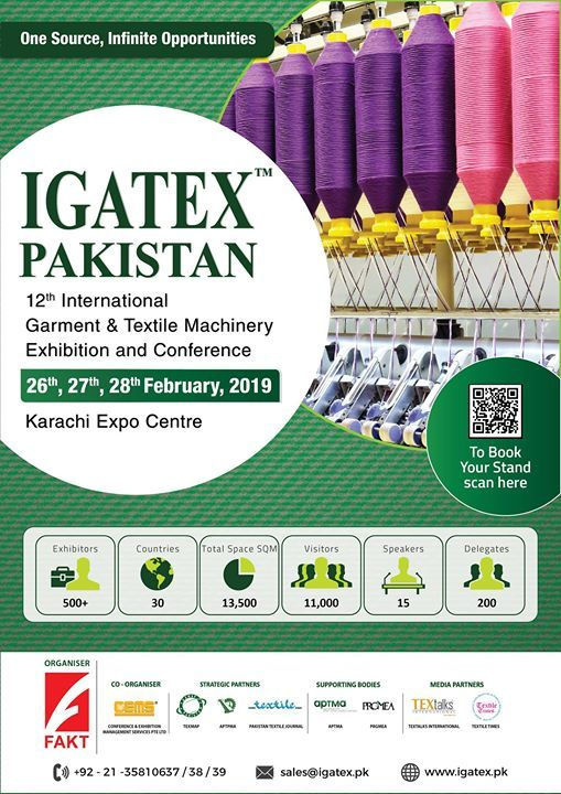 Igatex Pakistan 2019