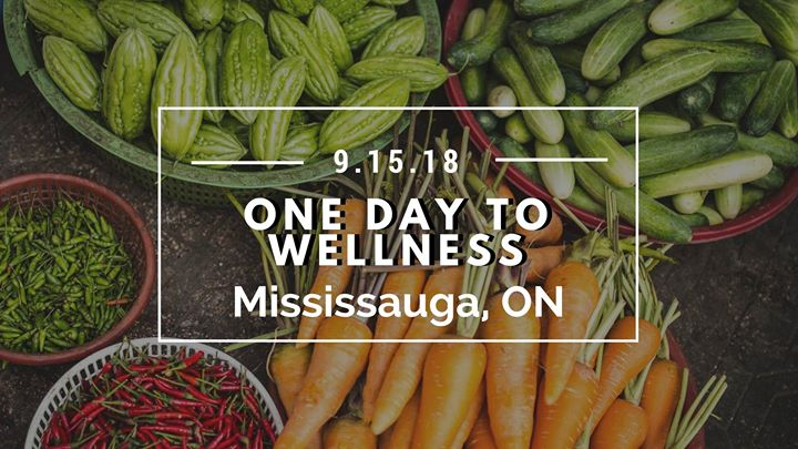 One Day to Wellness in Mississauga Ontario on Sept. 15th