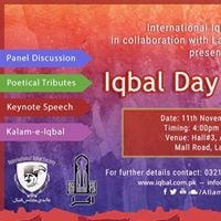 Iqbal Day - Lahore