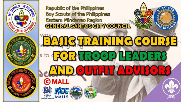 Basic Training Course for Troop Leaders and Outfit Advisors