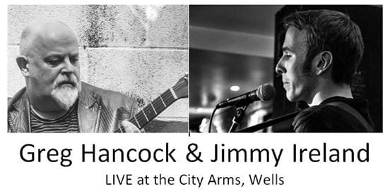 Wells Greg Hancock and Jimmy Ireland in Concert.