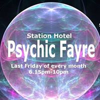 Psychic Fayre at the Station Hotel Dudley on Friday 29 September