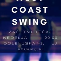 West coast swing - zaetni teaj