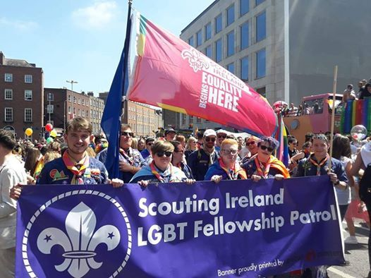 LGBT Fellowship Patrol go to Cork Pride 2018