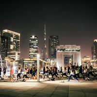Rooftop Yoga Yoga under the stars