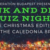 Think &amp Drink Quiz Night - 1214 at The Caledonia