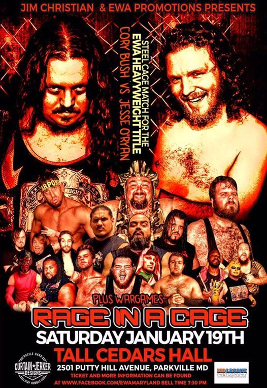 EWA Rage In A Cage January 19th 2019 at Tall Cedars Hall2501