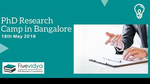 PhD Research Camp in Bangalore