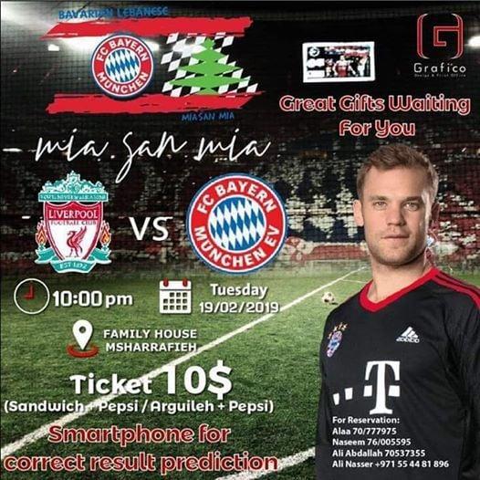 Bayern Mnchen Vs Liverpool