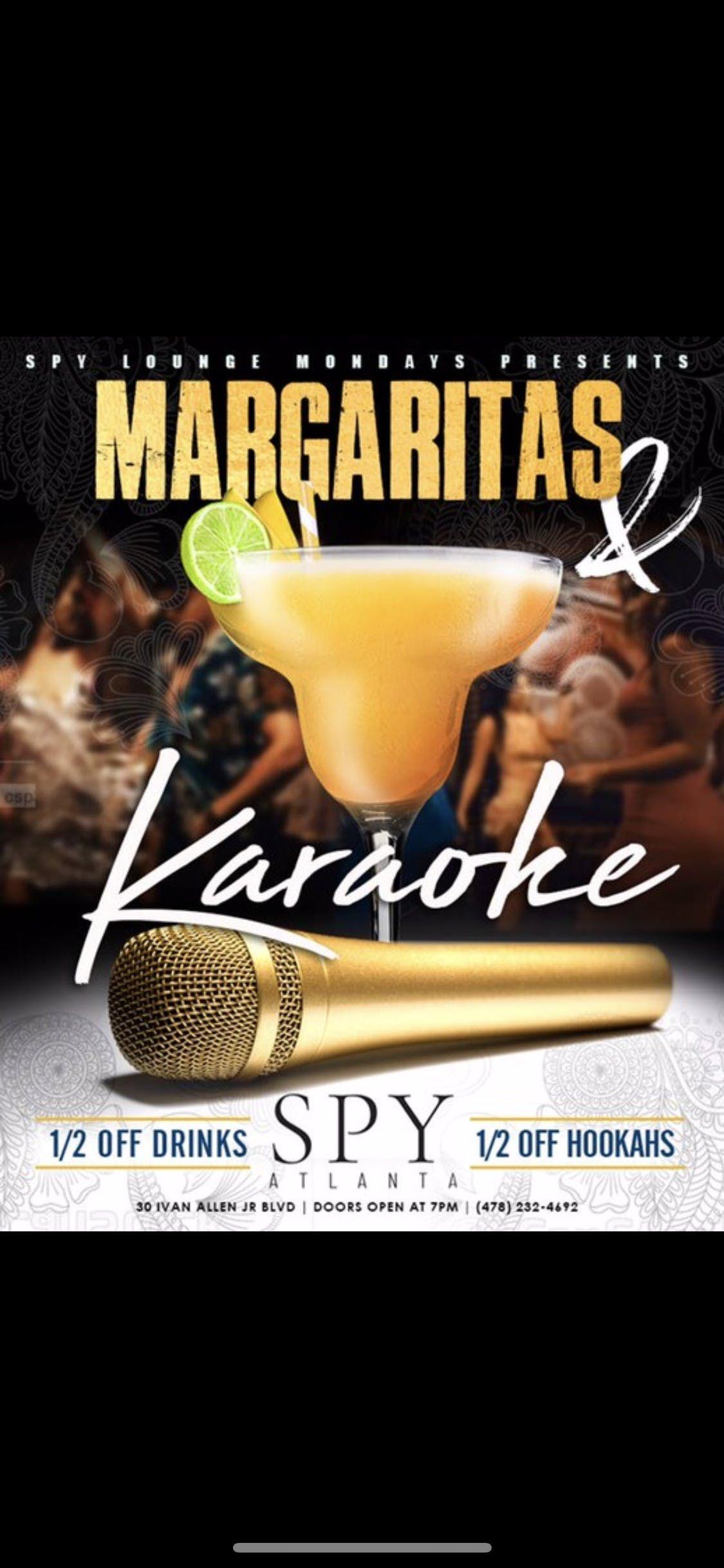 Karaoke And Margaritas Monday