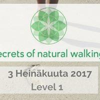 Secrets of Natural Walking - Level 1 - Espoo