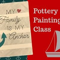 July Pottery Painting Class