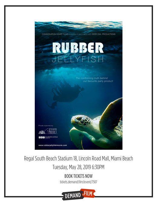 Rubber Jellyfish at Regal Cinemas Lincoln Road, Florida
