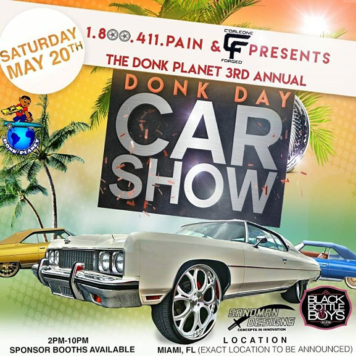 Donk Day Car Show At Miami FL United States Miami - Donk planet car show