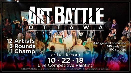 Art Battle Ottawa - October 22 2018