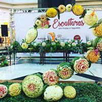 Curso de Escultura em Frutas