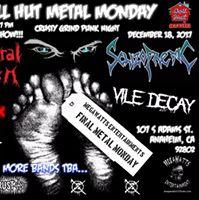 MegaWatts Entertainments Final Metal Monday Crusty Grind Punk
