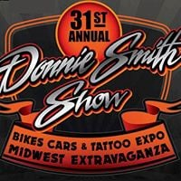 Tribute To The Troops Booth at the Donnie Smith Bike Show