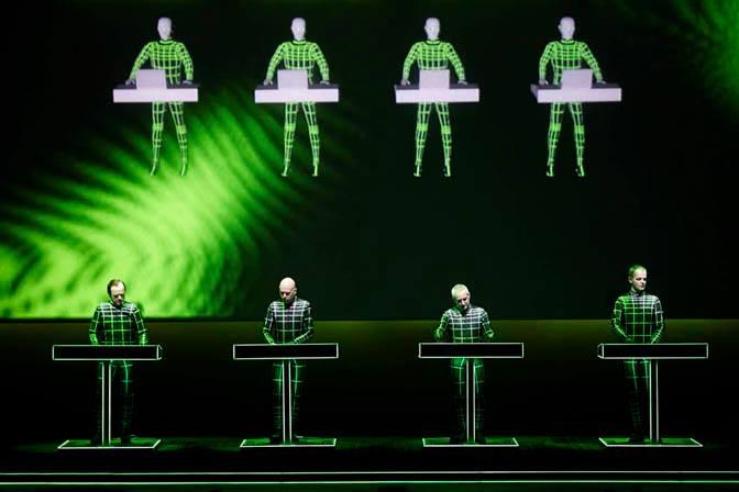 Kraftwerk - 3D Concert