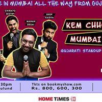 Kem Chho Mumbai Gujarati Standup Comedy