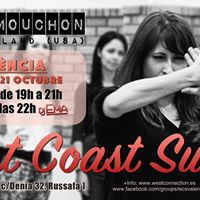 West Coast Swing - Sara Mouchon  Social (Valncia)