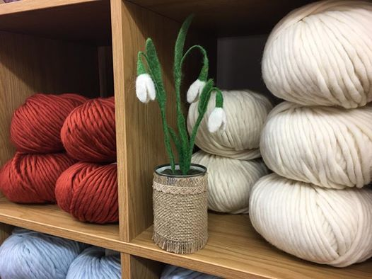 Fully Booked - Needle Felted Snowdrops - with Amy McNeil
